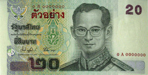 20 Baht Notes (Series 15)